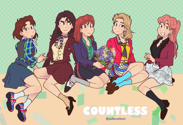 Countless SHINee Girls by Pulimcartoon