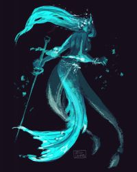 Mermay! Blue by JillLenaD