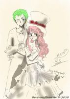 Happy birthday zoro 2010 by RoronoaxPhantom
