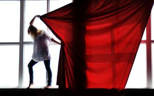 red hot chili curtains by ntscha