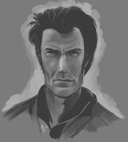 Clint Eastwood by LemonFlavoredBacon