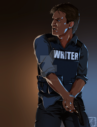 WRITER by InvisibleRainArt