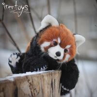 Red panda [stuffed toy] by Irentoys