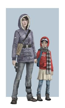 Carley and Clem 2 by Monopteryx