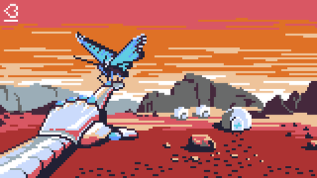 Pixel Dailies - #Android - Artificial Friend by randomhuman