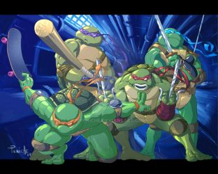 Ninja Turtles by Fpeniche