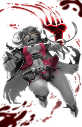 Velvet Crowe by Lualapin