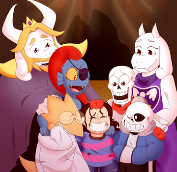 happy 2 year anniversary undertale by ScrillowArts