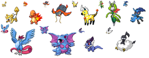 Pokefusion adopts (CLOSED) by xXSoft-SilenceXx