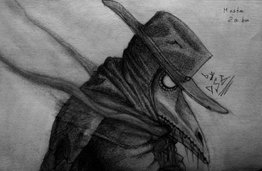 Plague Doctor by angor7a