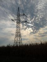 clouds and electricity by blueyesdigital