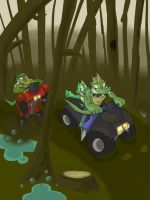 Nightriders: TFSA Terror in the Swamp P1 by AxlReigns