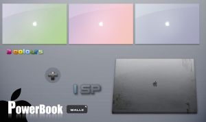 powerbook wall by xipx