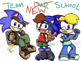 CE: team NEW school by LeniProduction