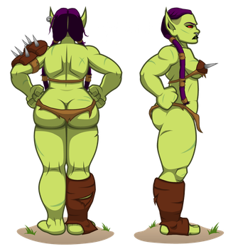 Orcish Proportions by ArmenDangerous