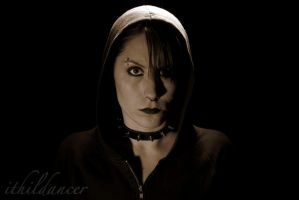 Self-portrait as Lisbeth Salander by ithildancer