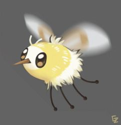 Cutiefly animation by PapaVego