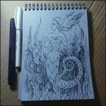 Sketchbook - Water plants by Candra