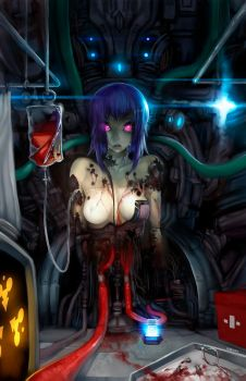 Ghost on the shelf by elsevilla