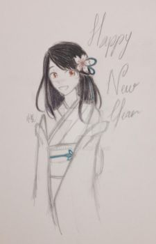 Happy New Year ! by CreamPurin