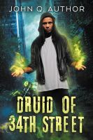 Druid of 34th Street - premade book cover by LHarper