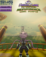 Freedom Planet Resurgence Issue 9 Comic Script PDF by CCI545