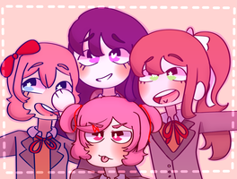 Doki squad by Gay-Kade