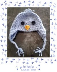 Crochet: Bird chick hat by simonsaz3