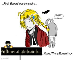 Wrong Edward by Lincean