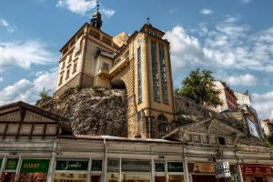 Karlovy Vary - Castle Tower by pingallery
