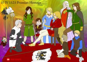 Prussian Homage by Janemin