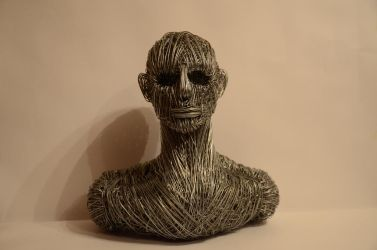 Sculpture from metal by larit123