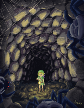 Skulltula cave by tipsd9video
