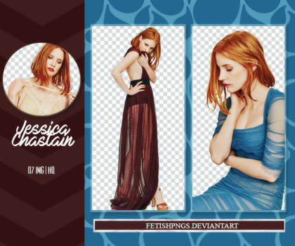 Pack Png 11 - Jessica Chastain by fetishpngs