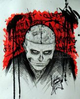 Rick Genest- Profile 14 by GeeFreak