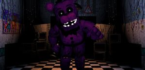 Shadow Freddy In Office by PrimeYT