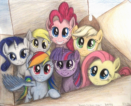 Ponies For Good Home (Traditionalized) by TheFriendlyElephant