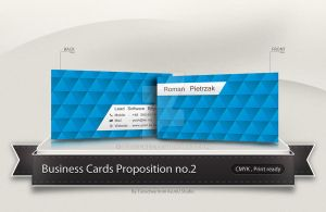 Yosh Business Card Concept no.2 by Tooschee