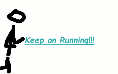 Running ... with speed and tempo and stuff by RealSouji