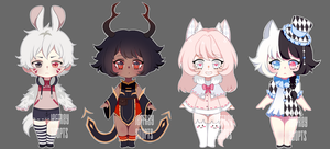 Adopt auction 61 [closed] + icons by JeffreyAdopts