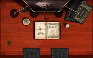 Steampunk Desk Vinci by inception8