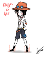 Chibi Ace by Squidbiscuit