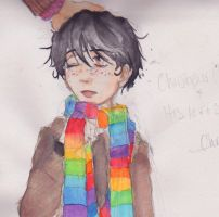 Christopher Chant-Scarf rough by Itsychick