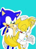 Sonic and Tails by JazzXSonic