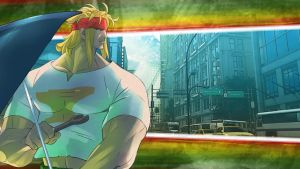 STREET FIGHTER V - Character History - Alex (2) by Zeref-ftx
