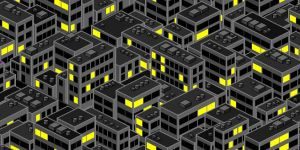 City buildings Tesselation by grza