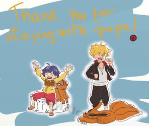 -Thanks naruto fans- by RMAlexis