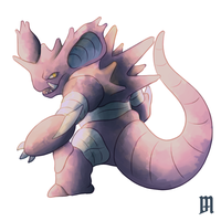Not glowing nidoking