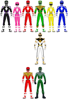 Mighty Morphin Power Rangers - Next Generation by exguardian