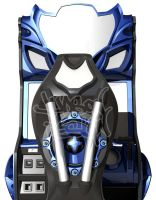 H20verdrive Arcade Game Concept by ManicGraphix
